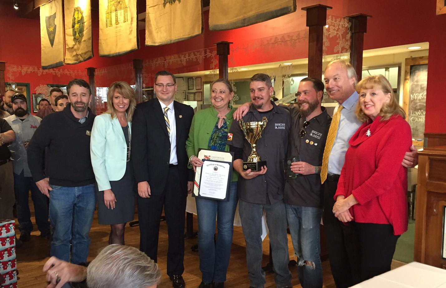 Barley & Hops Ambulette Wins Comptroller's Cup