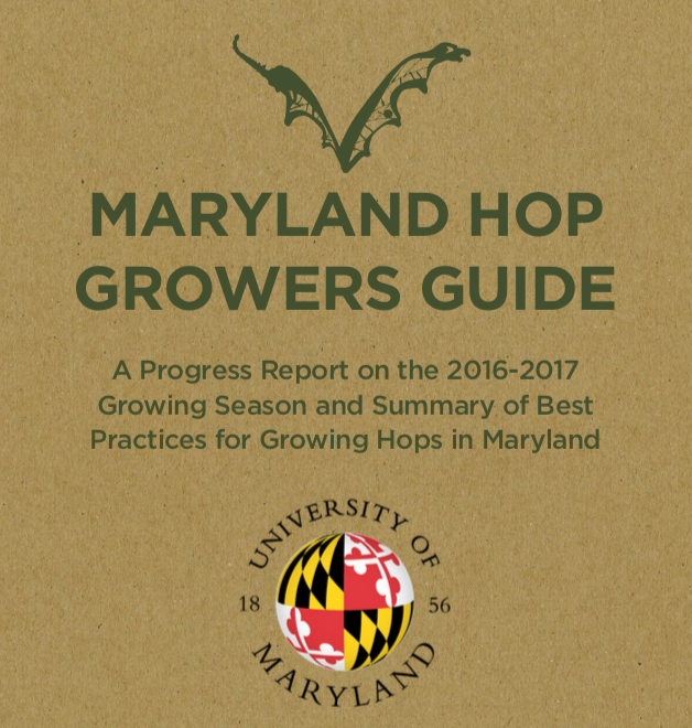 """Maryland Hop Growers Guide"" released"