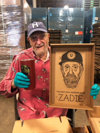 """Meet The 99-Year-Old Who's Still Volunteering at Union Craft Brewing"" – Washington City Paper"